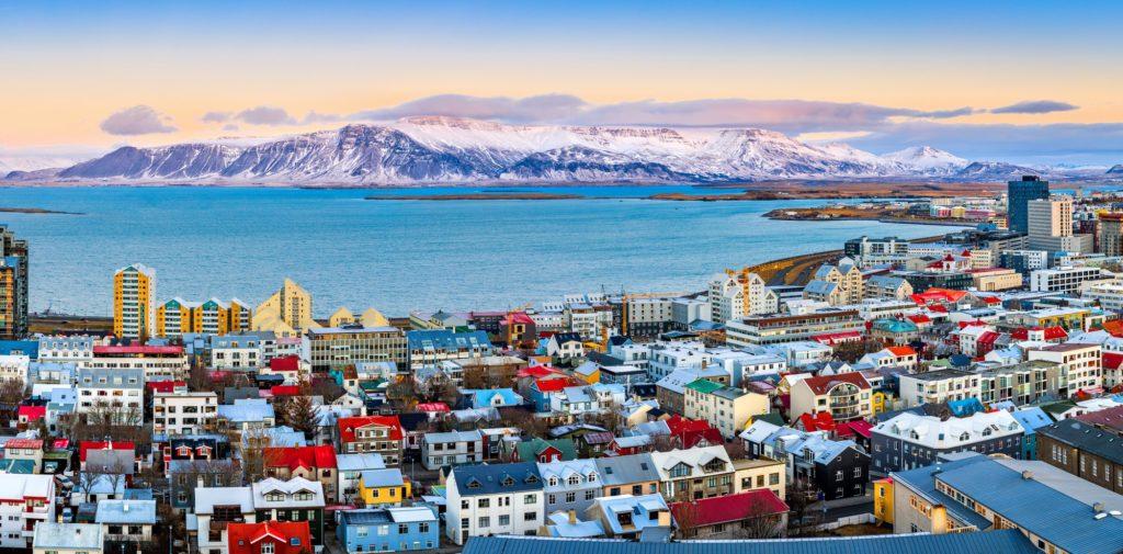 Reykjavik vue du ciel
